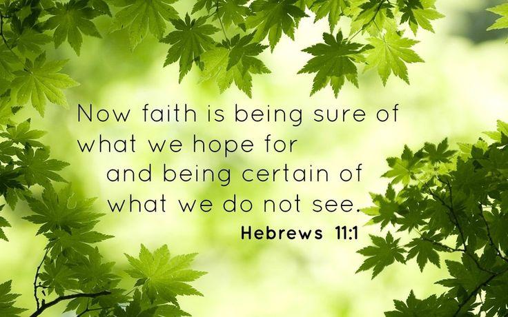 Hebrew 11:1