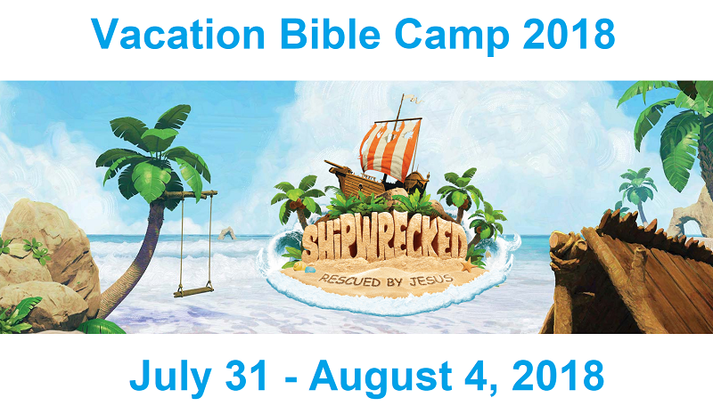 Vacation Bible Camp 2018